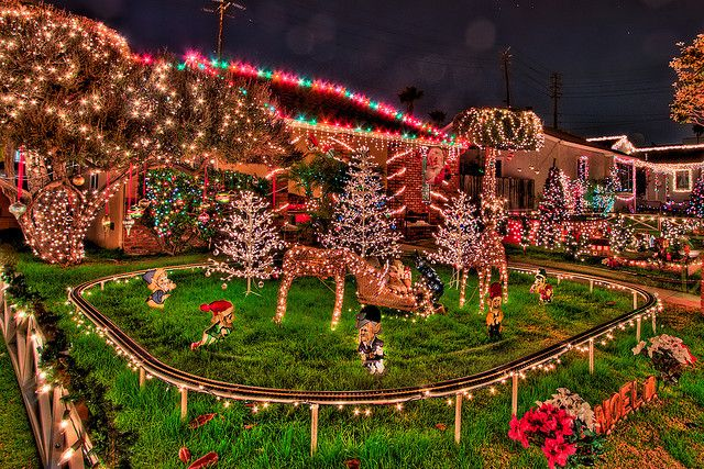 Candy Cane Lane Christmas Decorations Candy Cain Lane California  Candy Cane Lane Los Angeles Hours