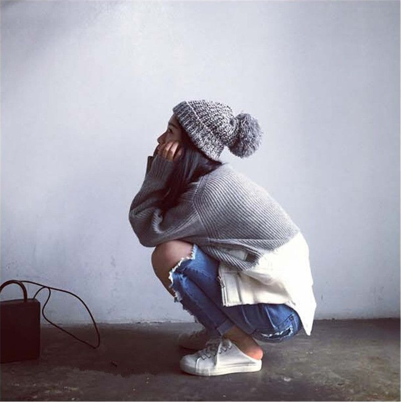 3c326fea0243f Aliexpress.com  Comprar Brand sombrero de invierno mujeres otoño 2015 moda  Snapback Caps bola