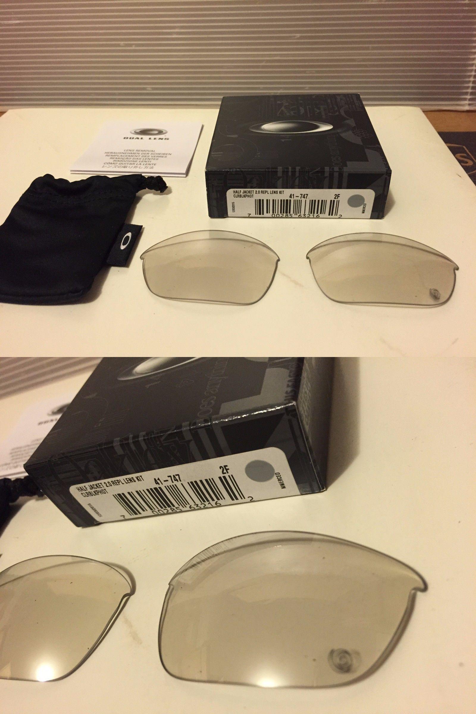 ec3fcdb8c74 Sunglass Lens Replacements 179194  New Oakley Half Jacket 2.0 Replacement  Lens Clear-Black Photochromic