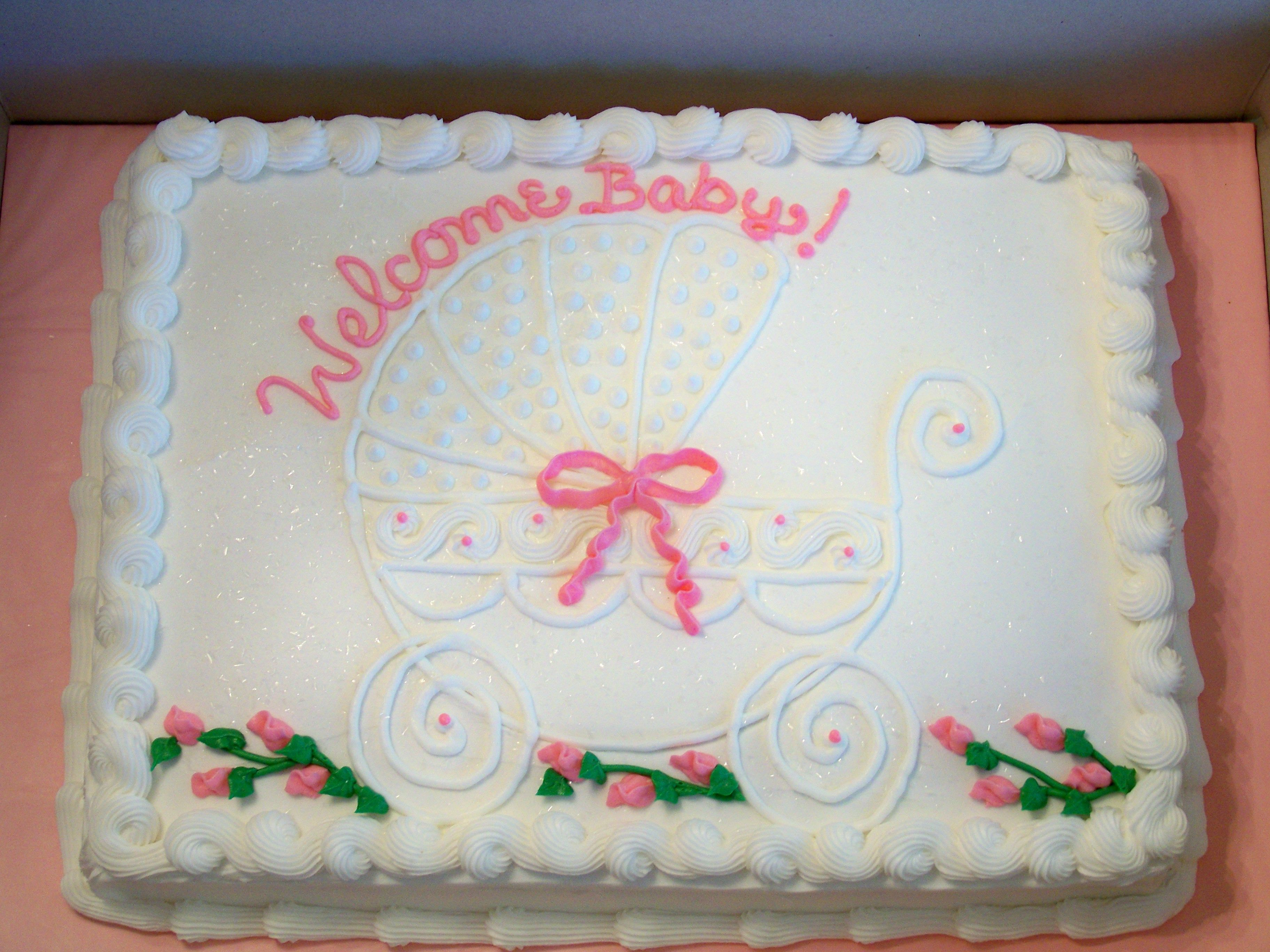 Baby Shower Sheet Cake Ideas