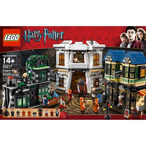 Toys Harry Potter Diagon Alley Lego Harry Potter Harry