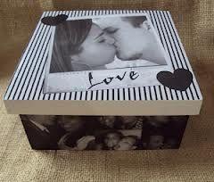 caixas decoradas para namorado - Google'da Ara
