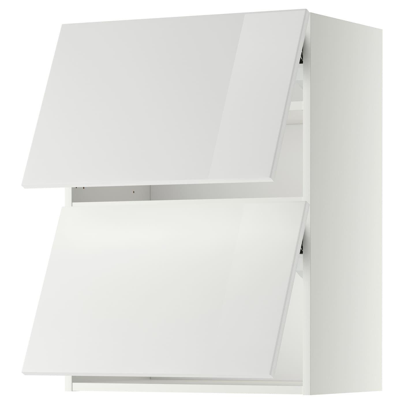 IKEA – METOD Wall cabinet horizontal w 2 doors