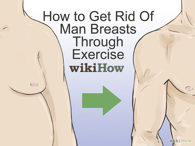 Rid Of Man Breasts Through Exercise