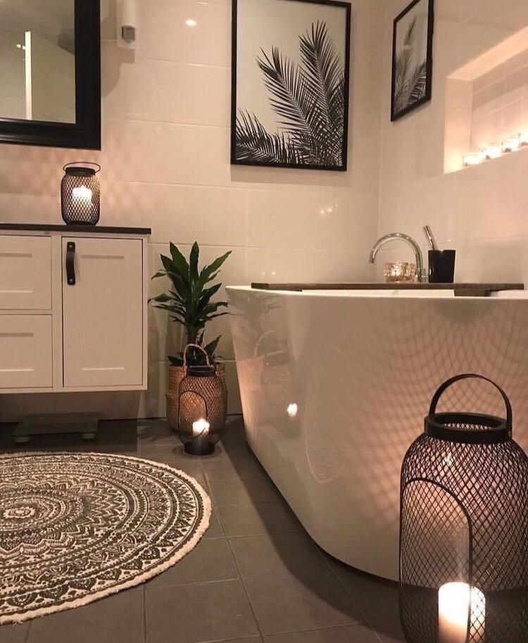 Photo of Salle de bain noire et blanche : 15 idées pour vous inspirer !