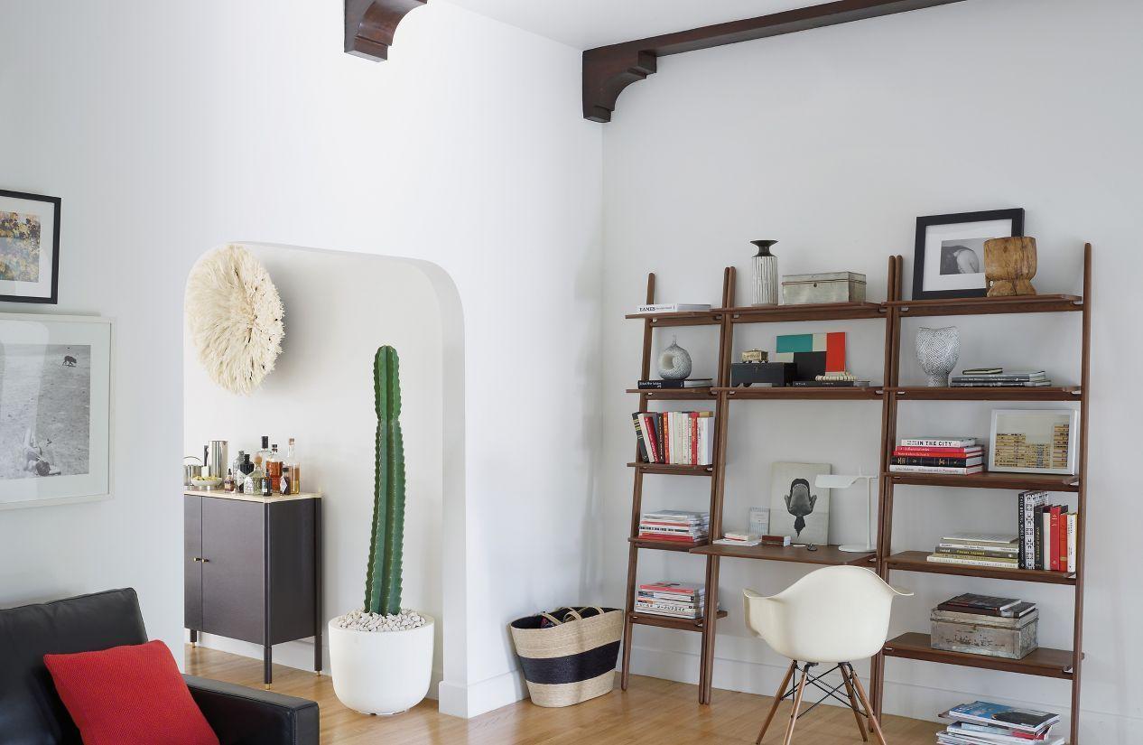 """Folk Ladder 32"""" Shelving   Living room shelves, Bookcase ..."""