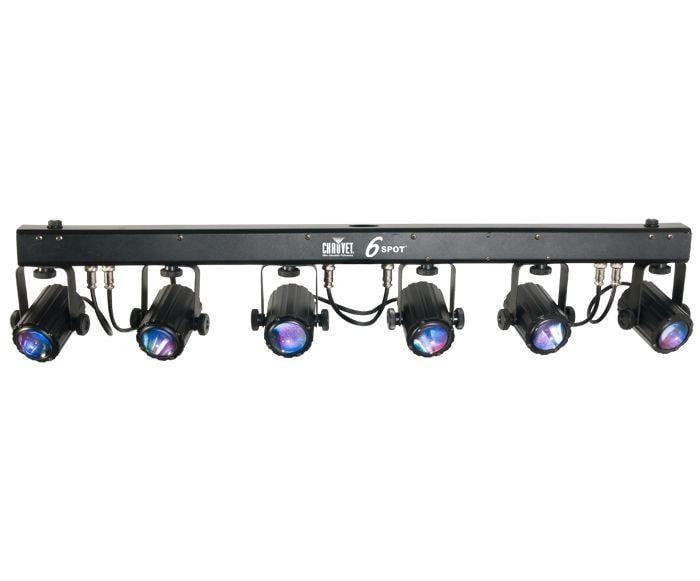Chauvet 6spot Led Color Changer Light System Attic E