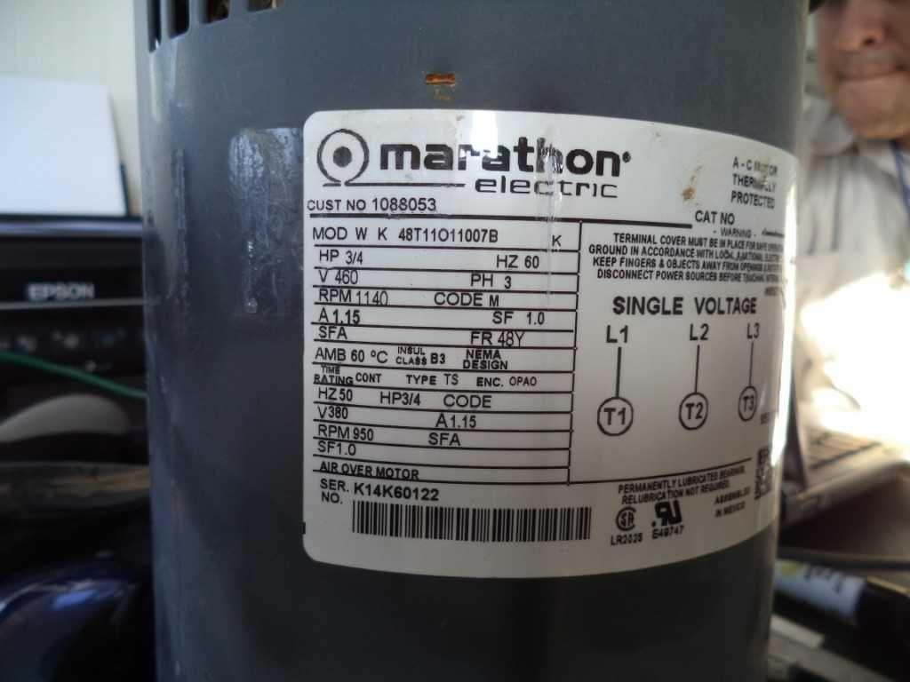 wiring diagram for keg beer marathon electric 1088053 48t11o11007b motor  marathon electric 1088053 48t11o11007b motor