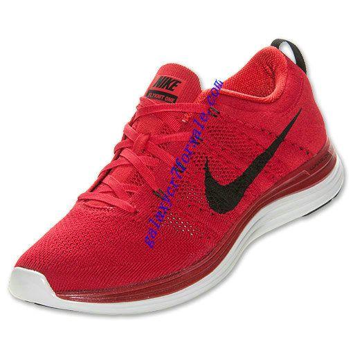 b144cbf956f4 Buy Nike Flyknit Lunar 1 Review Shoes Mens University Red Black White  554887 601