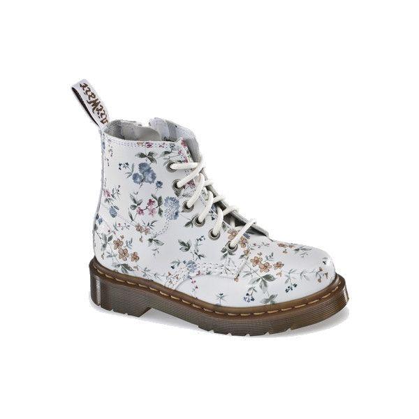 Dr martens sam boot white wild flowers doc martens boots and shoes dr martens sam boot white wild flowers doc martens boots and shoes found on polyvore mightylinksfo