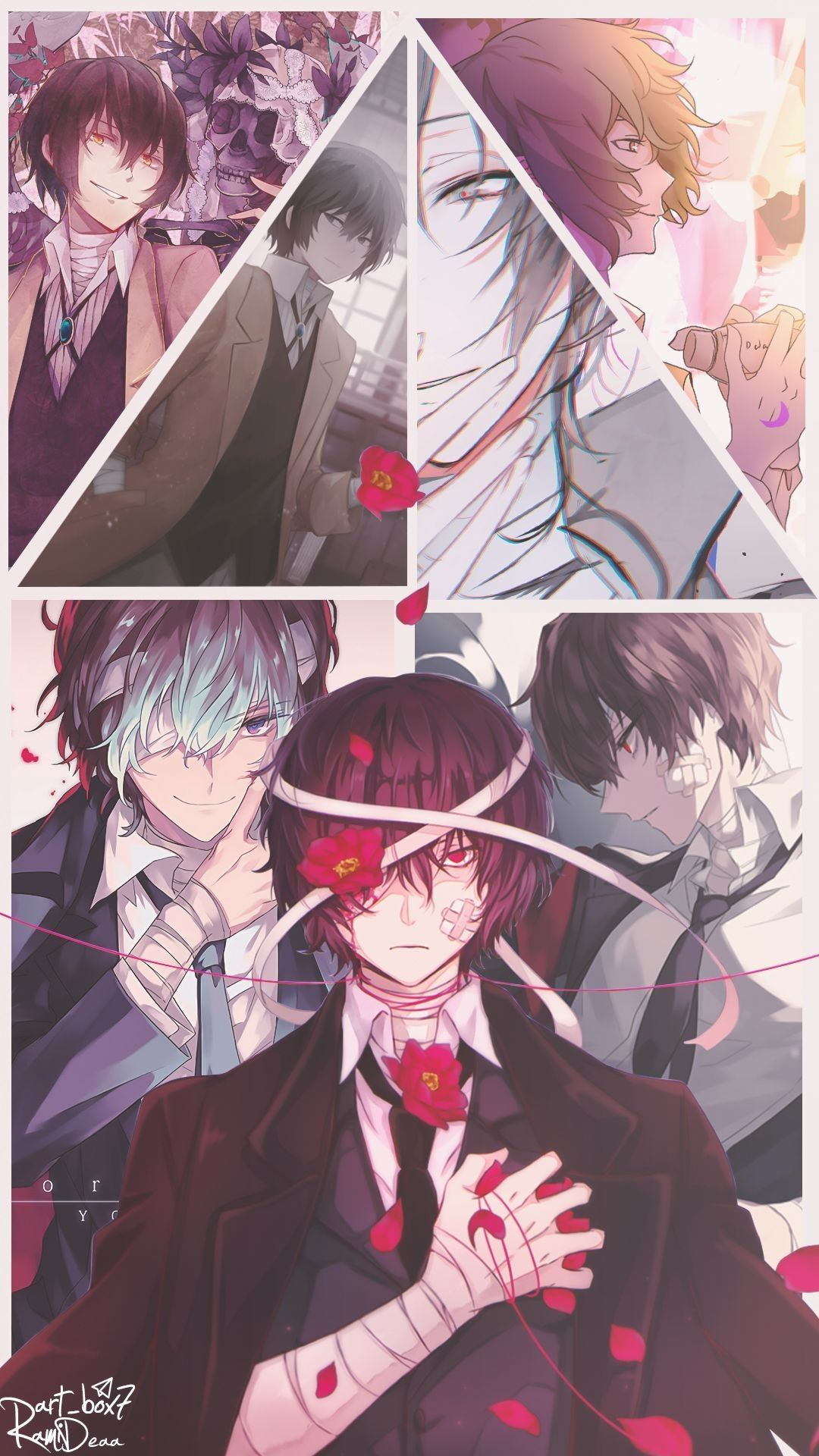 🌹[Funny chats and pictures Soukoku]🌹 - 🌹98🌹Dazai Chapter!