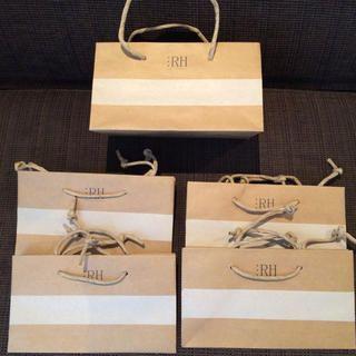 Ron Herman(ロンハーマン)のロンハーマン☆ショッパー5枚 レディースファッションのバッグ(ショップ袋)の商品写真