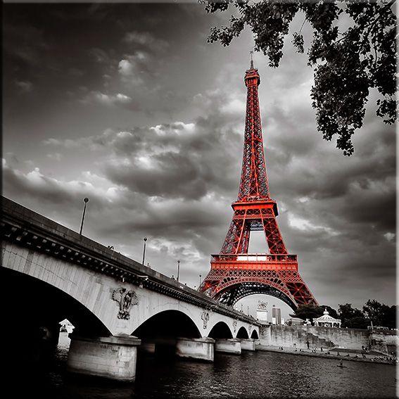Tour Eiffel Photo Noir Et Blanc Paysage Paysage Peinture De La Tour Eiffel