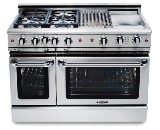 Gscr488n Capital 48 Precision Pro Style Gas Convection Range 8 Burners Natural