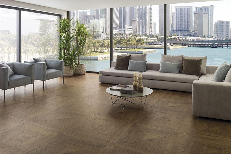 Par Ker Wood Porcelain Porcelanosa Contemporary Living Spaces Wood Look Tile Home