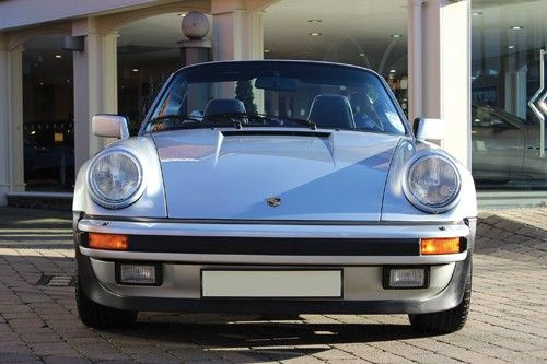 1989 Porsche 911 Carrera Supersport Cabriolet