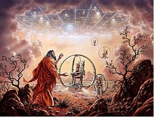 Aliens and UFOs In The Bible- Does The Bible Detail Gene Manipulation By An Alien Race?   Ancient aliens, Ancient astronaut theory, Fallen angel