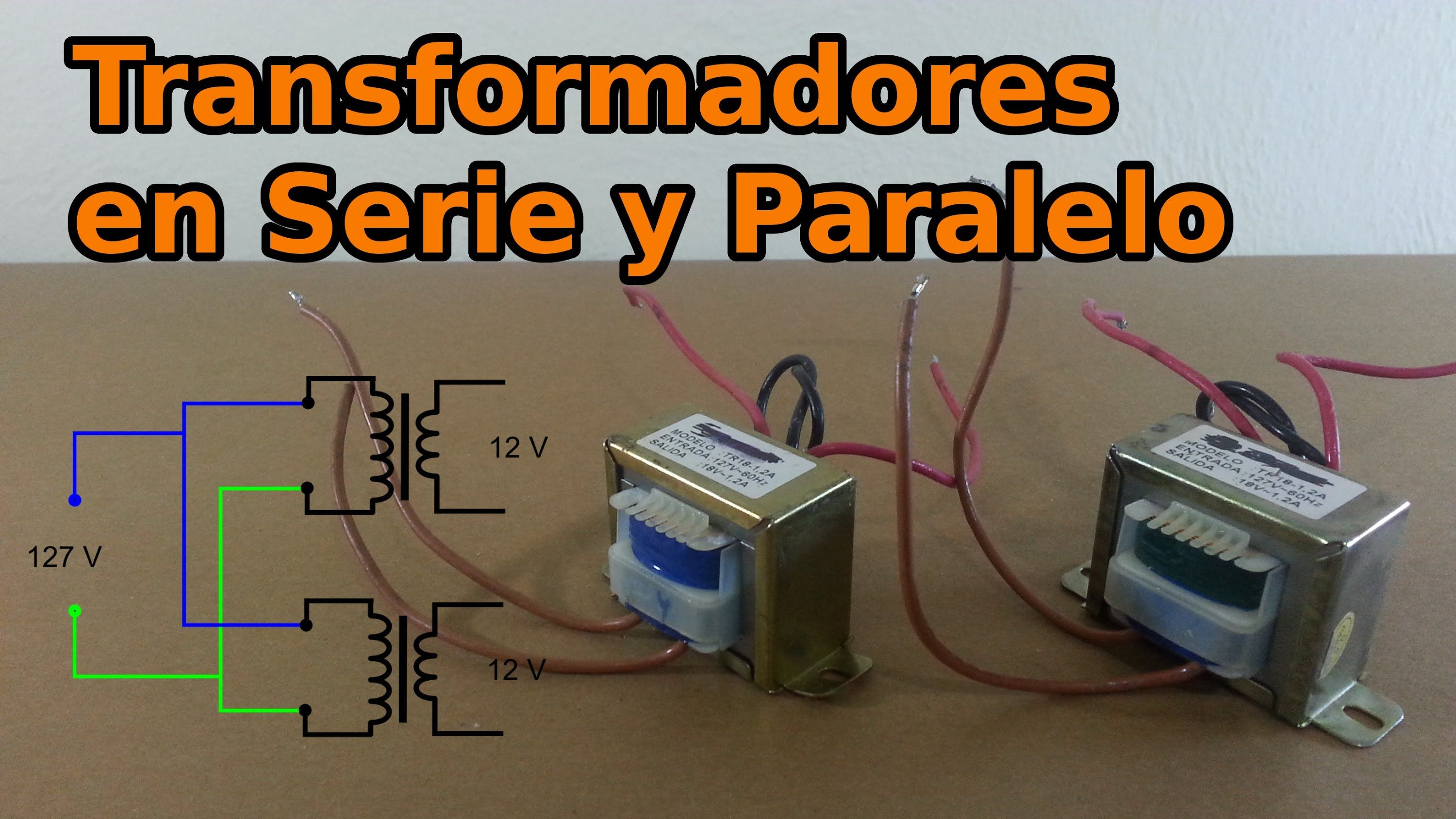 Parallel Vs Series Wiring Transformer | schematic and ...