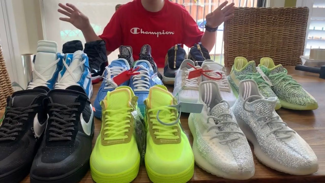 My Entire DHgate Shoe Collection!! Nike
