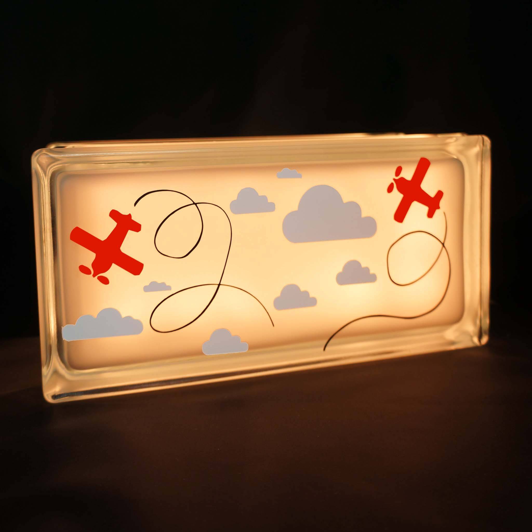 gallery everyday crafts pinterest night light glass blocks