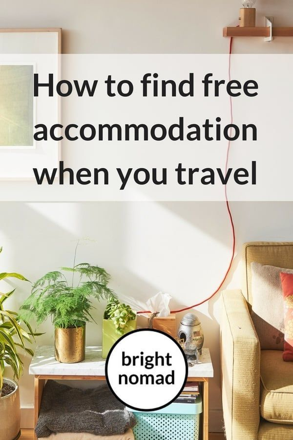 Free place to stay