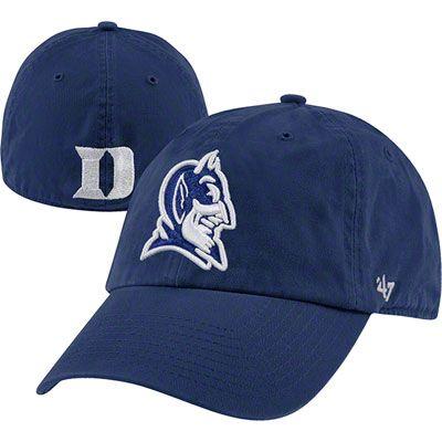 Duke Blue Devils  47 Brand Franchise Fitted Hat Duke College b8daf81b67b