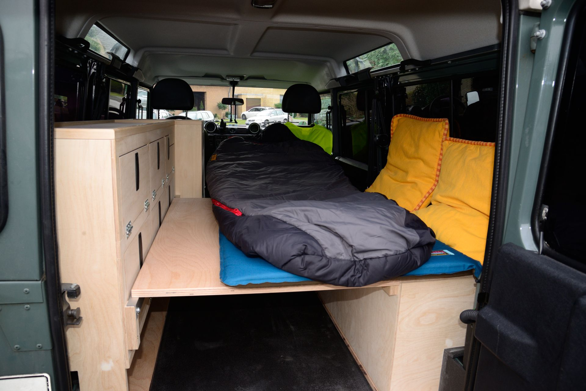 Bildergebnis f r camper ausbau minimal rv camper car for Garage land rover nancy
