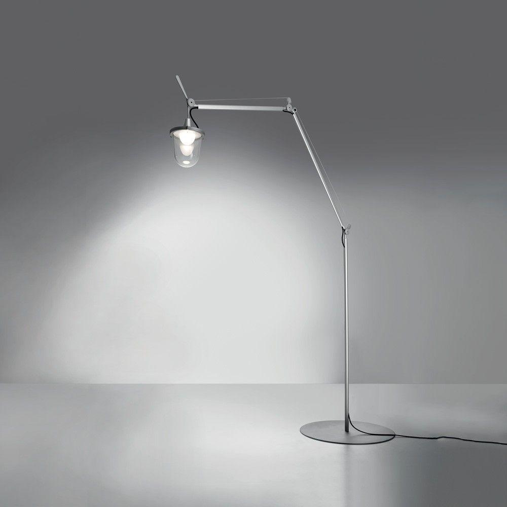 Artemide Tolomeo Lantern Outdoor Floor Lamp Lantern Floor Lamp Outdoor Floor Lamps Floor Lamp Shades
