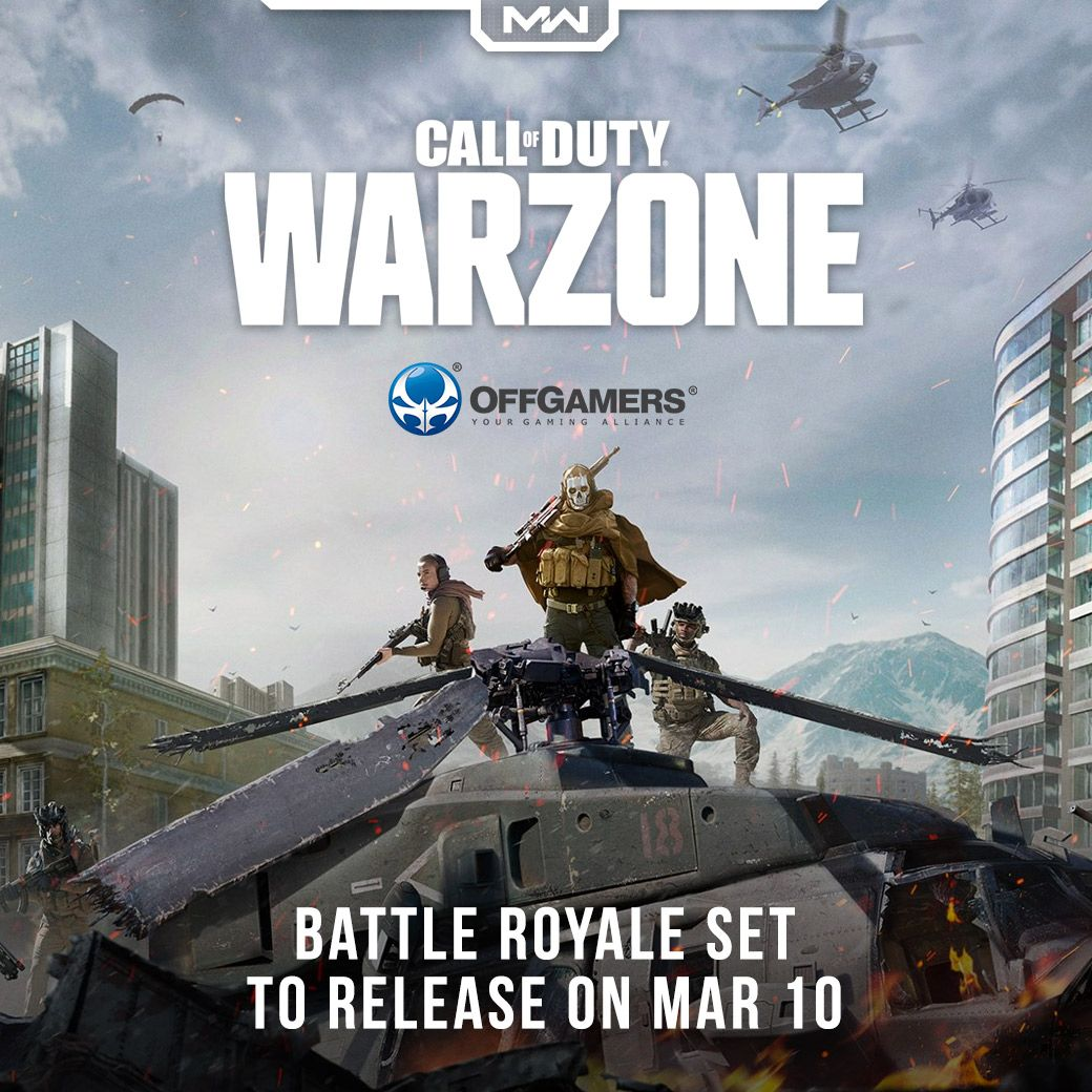 Call Of Duty Warzone Battle Royale Release Now Learn More Https