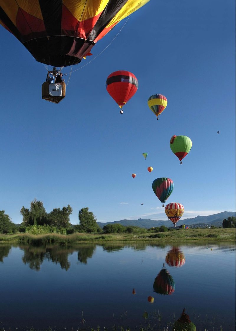 Balloon Rodeo Steamboat Springs - Colorado Mile High Photog Apr 03, 2015