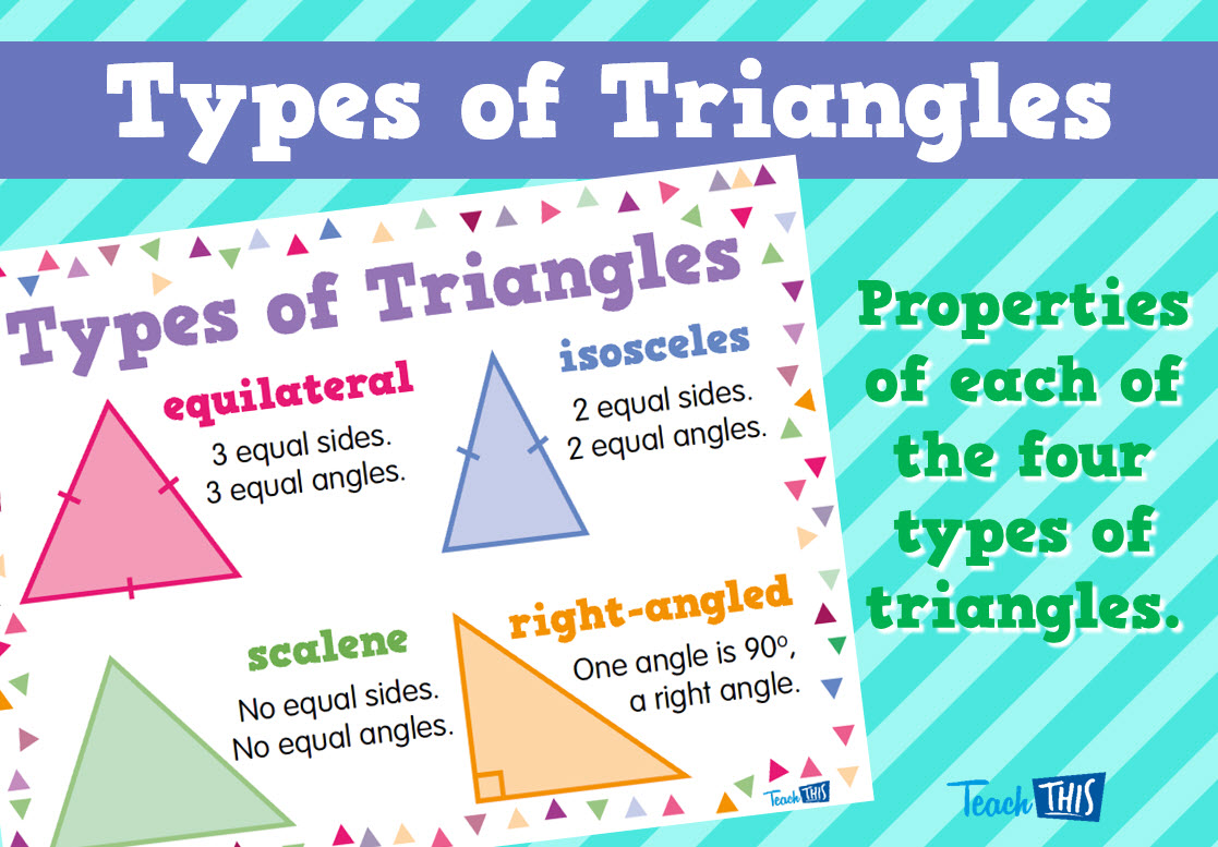 Types of Triangles | education | Pinterest | Triangles, Homeschool ...