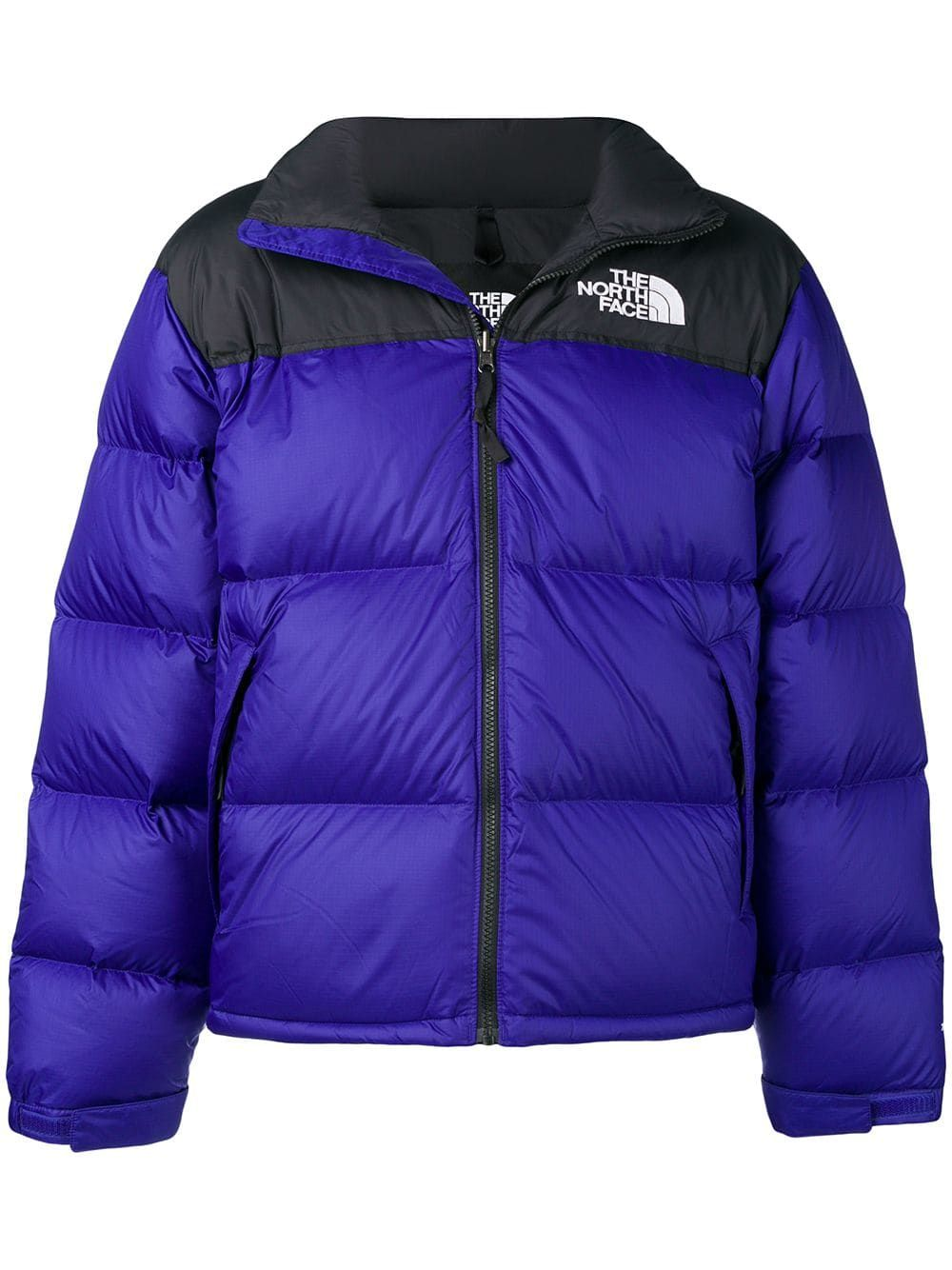 11aab486b THE NORTH FACE THE NORTH FACE TWO-TONE PUFFER JACKET - BLUE ...