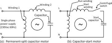 Permanent Split Capacitor Motor Wiring Diagram