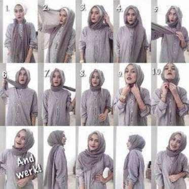 18 طريقة جديدة للف الحجاب.. تميزي بإطلالة رائعة في رمضان - رائج