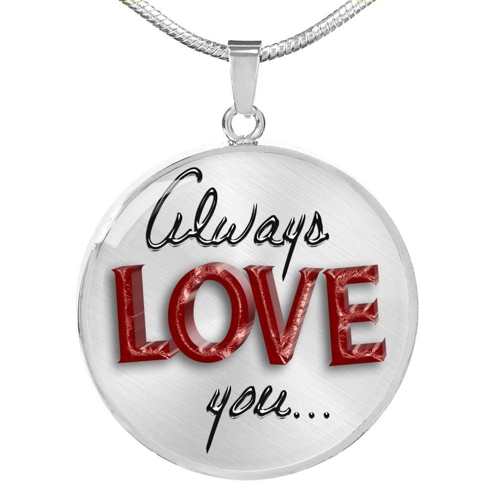 To My Girlfriend Necklace Gift Woman Necklace Birthday from Boyfriend Anniversary Gift Idea 2466fHcn AvA