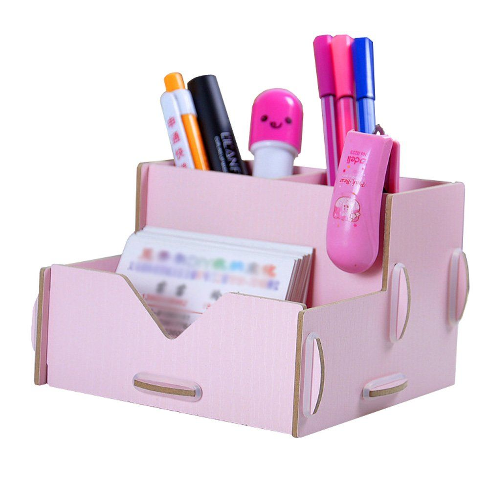 creative office supplies. Office Supplies Storage Box File Pen Pencil Holder Stand Desk Organiser Creative Design Made From Wood T