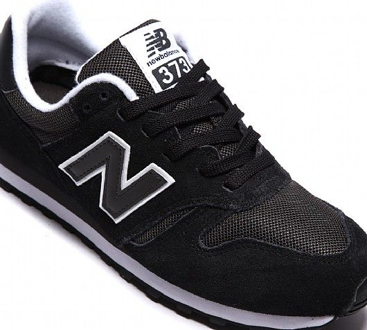 New Balance Womens ML373 Suede/Mesh Trainer | Black | Footasylum