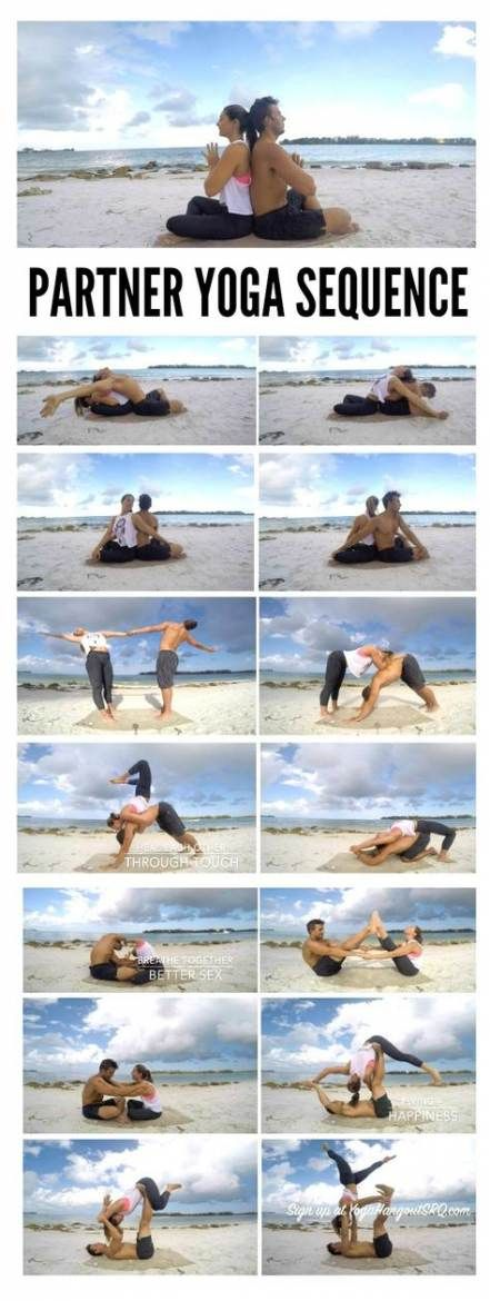 37+ ideas fitness challenge couples yoga poses #fitness
