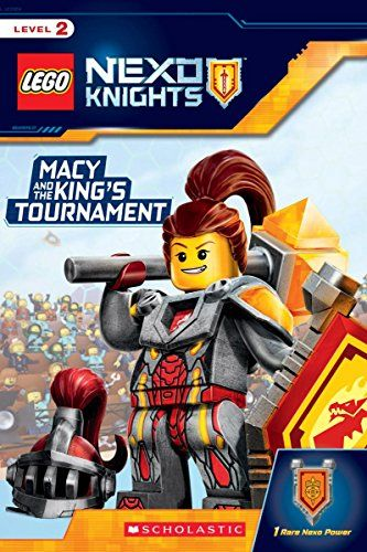 macy and the king's tournament lego nexo knights reader