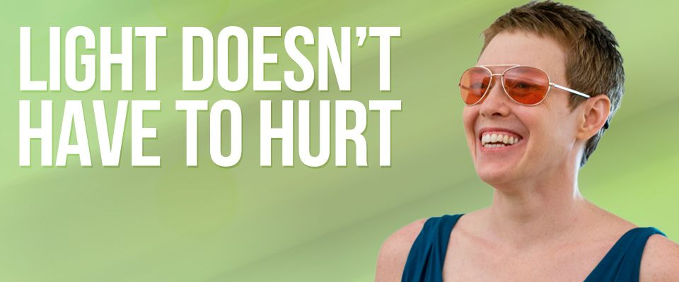 Attractive Migraine Relief   Fluorescent Light Glasses For Migraines   TheraSpecs Ideas