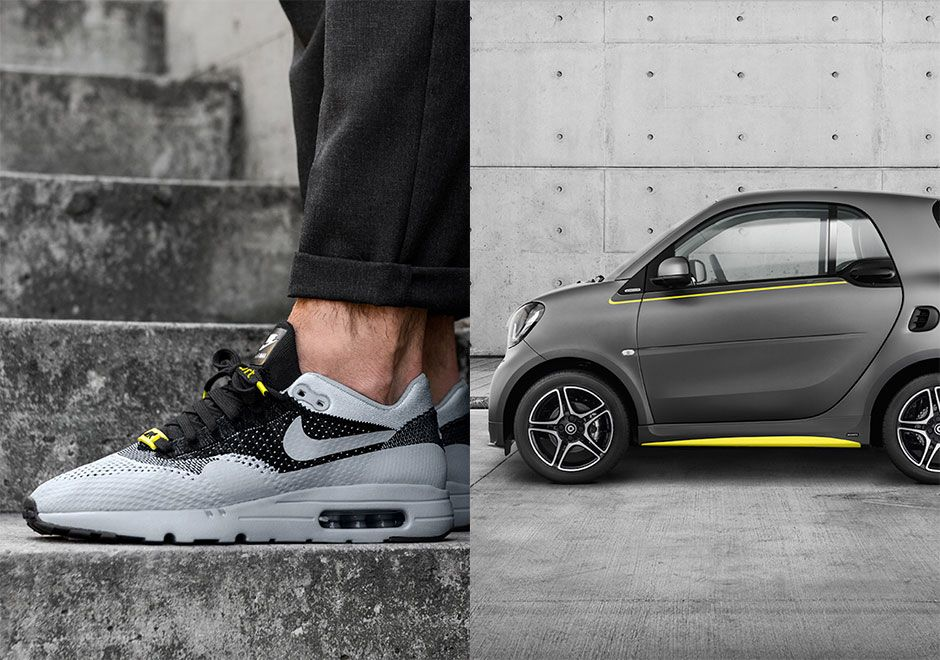 Asphalt Gold Nike Air Max 1 Flyknit Smart Brabus Car | Nike