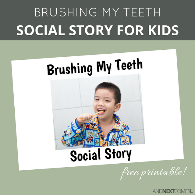 Influential image throughout printable social stories