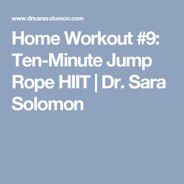 30 Day 10 Minute Jump Rope Challenge Jump Rope Challenge Jump Rope Jump Rope Workout
