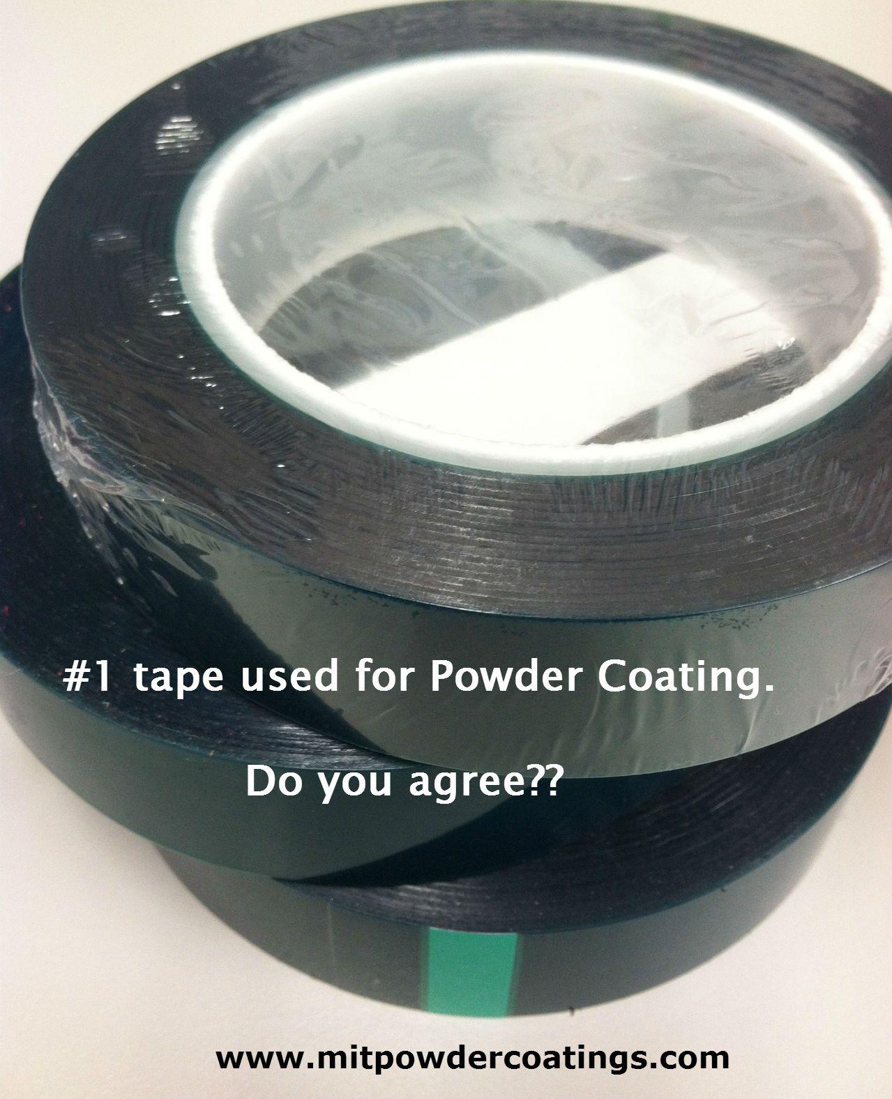 Polyester Heat Tape Www Mitpowdercoatings Com Heat Tape Tape Masking Tape