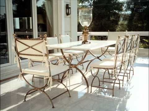 Classy Luxury Steel Furniture Design Wrought Iron Furniture