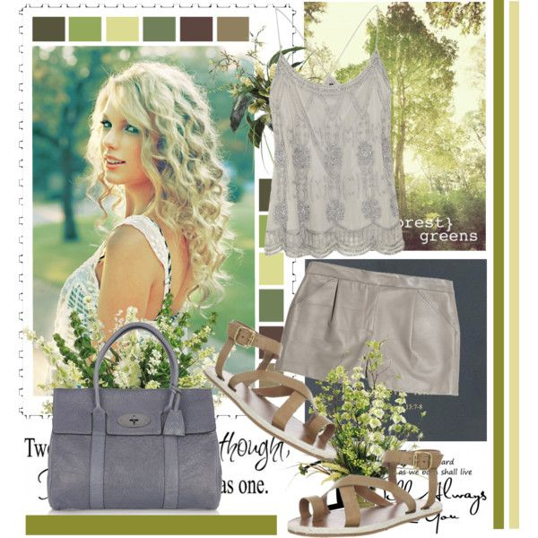 """Summer Days in Grays"" by fashiontake-out on Polyvore"