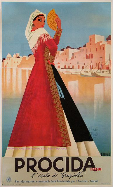 TW17 Vintage Italie Italy Beaches Of Choice Italian Travel Poster A2//A3//A4