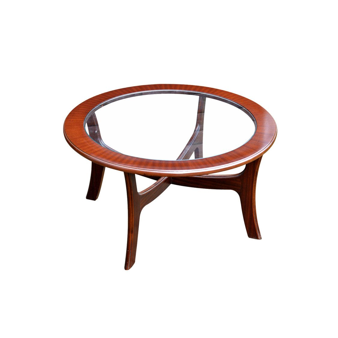G Plan Teak Round Glass Top Occasional Table 1980s Etsy Occasional Table Vintage Table Coffee Table [ 1125 x 1125 Pixel ]