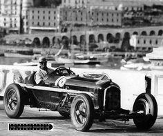 GP Monaco 1934 , Scuderia Ferrari , Alfa Romeo P3 #20 Driver Guy Moll ...