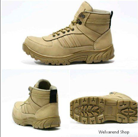 c99c5415aae51 Beli Sepatu boot tactical tracking adidas safety ujung besi krem Krem 39  dengan harga murah Rp250.000 di Lapak Welvarend Shop khangyanz - Bandung.